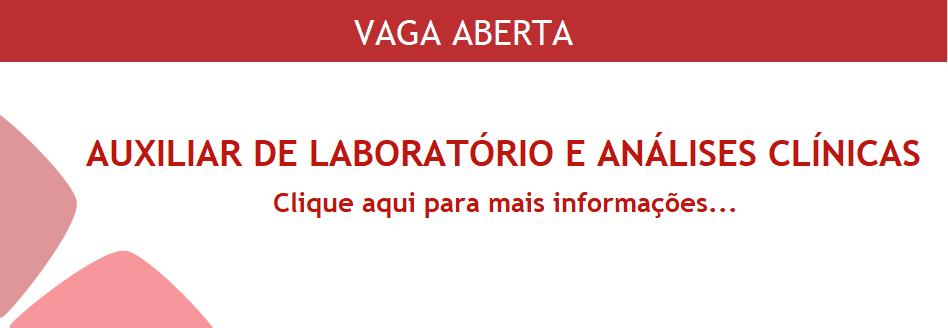 VAGA ABERTA LAB
